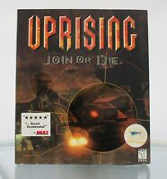 Uprising: Join or Die WIN 95 1997 Big Box with Inserts
