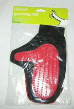 PET CAT DOG GROOMING GLOVE MITT DESHEDDING BRUSH FUR REMOVER RIGHT NEW & SEALED