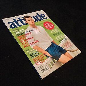 Attitude Magazine - Anton Hysen - Steven Davies - Summer 2011 - Gay Interest