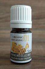 100% naturreines ätherisches Öl Immortelle Zertifikat BIO, Wildwachsend  5ml