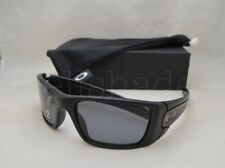 77349d1ad8a Oakley FUEL CELL (OO9096-05 60) Matte Black with Gray Polarized Lens