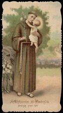 santino cromo-holy card-PAL-S.ANTONIO DA PADOVA 8