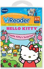 NEW VTECH HELLO KITTY'S SURPRISE! V.READER 3 TO 5 YEARS KITTY