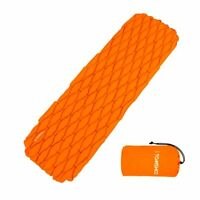 Mat Inflatable Sleeping Pad Camping Mattress Outdoor Bed Ultralight Backpacking