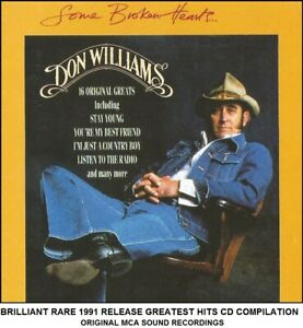 Don Williams The Very Best Essential Greatest Hits Collection - Country Music CD