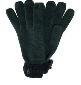 M-235943 New Brioni Cashmere Green Black Gloves Size XL