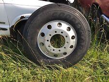 Goodyear G357 11R22.5 Load Range G Steer Tire with Alloy Aluminum 10 Lug Wheel