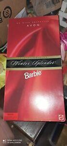 BARBIE AVON WINTER SPLENDOR 1998 Special edition