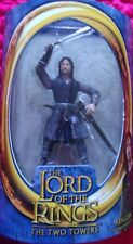 2003 Lotr * Aragorn With Sword Slashing Action * ~Toy Biz~