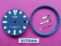 NEW SEIKO BLUE DIAL HANDS MINUTE TRACK SET FOR SEIKO 7002 7000 WATCH BVT00490