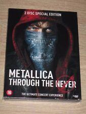 """New 2 CD DVD Film / Concert """"METALLICA THROUGH THE NEVER"""" [NEUF SOUS CELLO!!]"""