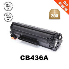 20PK CB436A Toner Cartridge For 36A LaserJet P1505 P1505N M1522NF M1522N