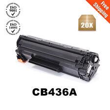 20PK CB436A Toner Cartridge For 36A LaserJet P1505 P1505N M1522NF M1522N