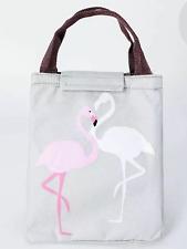 Flamingo lunch bag box snack picnic school office food ladies girl gift present