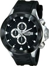 Invicta 16896 Black 50mm I Force Chronograph Date Silicone Strap Men's Watch