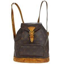 Louis Vuitton Montsouris MM zaino borsa monogram in tela M51136 til 33618