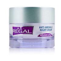 Regal Q10 Anti Wrinkle Night Cream Edelweiss & Baobab Oil Normal-Dry Skin 50ml