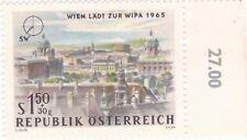 1,50 S+30g,Wien Läd zu WIPA 1965,Süd /Westen , ungestempelt , O Zelleer