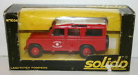 Solido 1/43 Scale - 1034 - Land Rover - Pompiers
