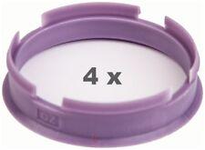 4 anneaux de centrage de 63 mm /à 60,1 mm violet//violet