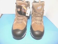 """Men's Dickies Solo, 6"""" Inch  Boot S.T. Color Tan Suede Size 13 M { BTX"""