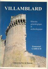 Histoire généalogique et archéologique de VILLAMBLARD + E. GARRAUD + PERIGORD