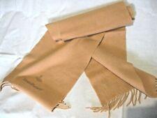 Rare Vintage, Vivienne Westwood Scarf, Solid Peach Wool with Tassels.