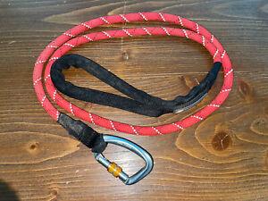 Ruffwear Just-a-Cinch Dog Leash In Red Sumac USED