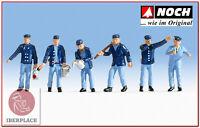 N escala 1:160 figuras modelismo maqueta trenes Noch 36282 maquinistas conductor