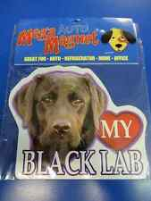 Black Lab Labrador Retriever Dog Pet Decal Auto Car Truck Magnet Decoration