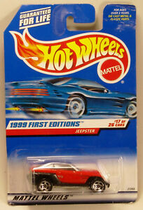 Hot Wheels 1999 #922 - 21069 - First Editions #17 - Jeepster