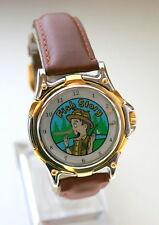 PESCA Fisherman'S STORY STORIA MISTERO Quadrante Naso crescente Watch NUOVO NEW old stock 1990s