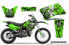 YAMAHA TTR90 CREATORX GRAPHICS KIT DECALS SAMURAI BG