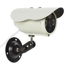 "6mm 1200TVL 1/4"" CMOS HD 1024 x 768 IP66 3pcs Array IR LEDs Digital Camera"