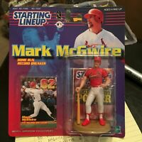 F59 1999 MARK MCGWIRE 62ND HR CARDINALS Starting Line Up NIB FREE SHIPPING