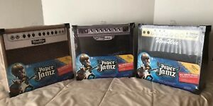 NIP 3 Different Paper Jamz Amps w/ Real Working Speakers, Amplifier Series 1