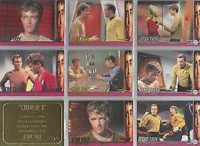 """Star Trek TOS 40th Ann S2: """"Charlie X"""" 9 Card Chase Set"""