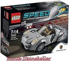 LEGO® Speed Champions: 75910 Porsche 918 Spyder & 0.-€ Versand & OVP & NEU !