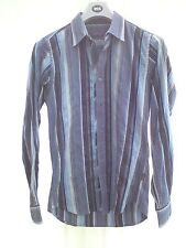 BLUE STRIPED TED BAKER SHIRT SMALL 38 CHEST .
