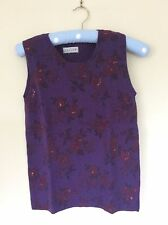 Floral Tank Tops for Women without Fastening