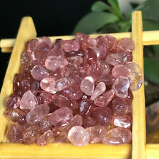 Top 30Pcs Natural Strawberry Crystal Stone poilshed Mineral Specimen