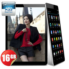 "16GB 9"" Inch Android 4.4 Quad Core Capacitive WIFI Bluetooth Google Tablet PC"