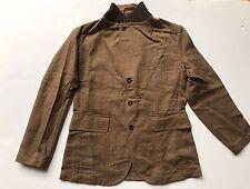 $690 RRL Ralph Lauren Japanese Yarn Cotton Linen Twill Sport Coat Jacket--XXL
