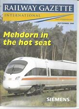 Railway Gazette International magazine- September2000 DH