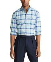 MSRP $110 Polo Ralph Lauren Men's Big & Tall Plaid Oxford Shirt Size 3XB