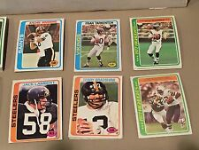 Complete Your 1978 TOPPS FOOTBALL SET EXMT/NRMT Pick 25 Point Lot Some PSA