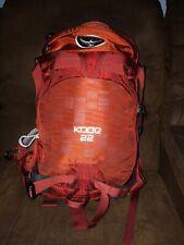 Osprey kode 22 Hiking Ski Snowboard Men's Travel Hydration Backpack very nice