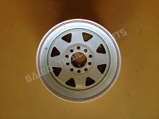 "13"" SUNRAYSIA MULTI-FIT(HOLDEN HT/FORD) Rim- White! Trailer Parts"
