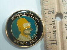 "Homer Simpson Pin,  ""Atomic Dad"" , The Simpsons pin (#146)"