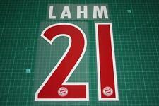 Bayern Munich 07/08 #21 LAHM Awaykit Nameset Printing